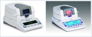 moisture analysers XM/EM